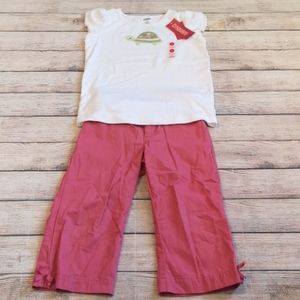 Gymboree Tulip Garden 2 Piece Set